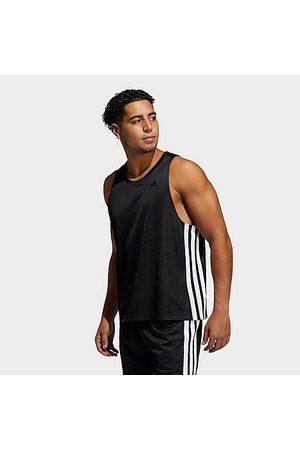 adidas Men Tank Tops - Men's Summer Legend Jersey Tank Top in / Size Small Polyester/Jersey