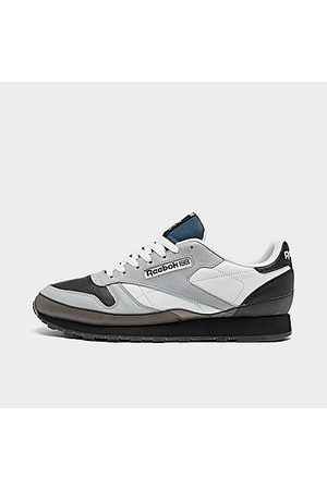 Reebok Men's Classic Leather Wrap Casual Shoes in Grey/Pure Grey 3 Size 8.0