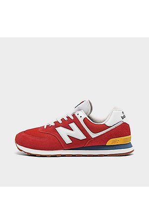 New Balance Men's 574 Casual Shoes in /Team Size 8.0 Suede