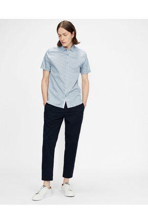 Ted Baker Men Shirts - Ss Mini Leaf Print Shirt