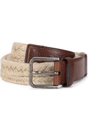 Dolce & Gabbana Men Belts - Braided rope belt - Neutrals