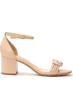 ALEXANDRE BIRMAN Malica 60mm block heel sandals - Neutrals