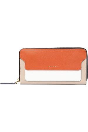 Marni Colour-block zip wallet