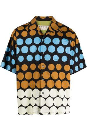 Marni Polka-dot short-sleeve shirt
