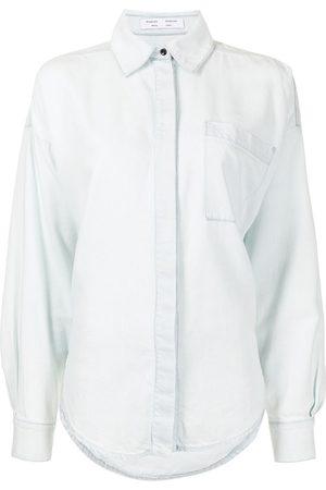 PROENZA SCHOULER WHITE LABEL Women Long sleeves - Long-sleeve chambray shirt