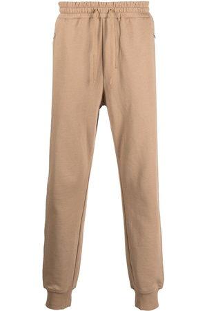 3.1 Phillip Lim Men Sweatpants - Drawstring-waist track pants - Neutrals