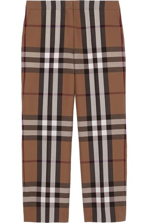 Burberry Check print trousers
