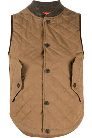 Dsquared2 Women Gilets - Reversible quilted gilet