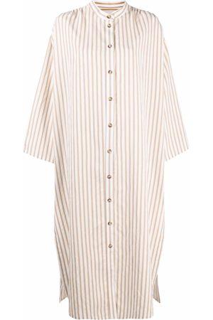 Manuel Ritz Stripe-print shirt dress