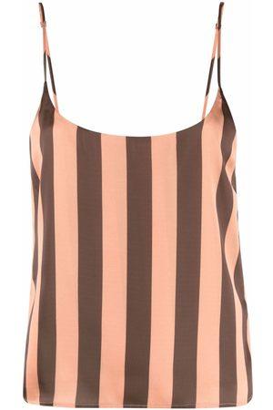 Manuel Ritz Striped open-back camisole top