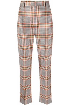 Manuel Ritz Prince of Wales check trousers - Neutrals