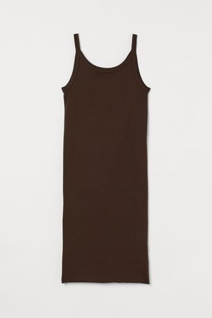 H & M Women Casual Dresses - Ribbed Jersey Dress
