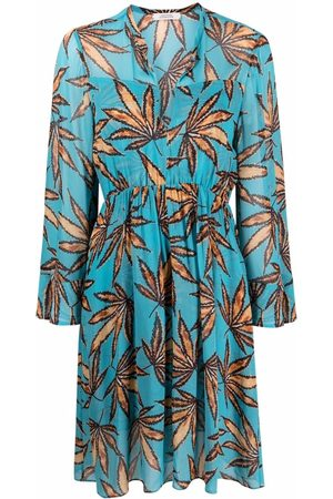 Dorothee Schumacher Leaf pattern tunic dress