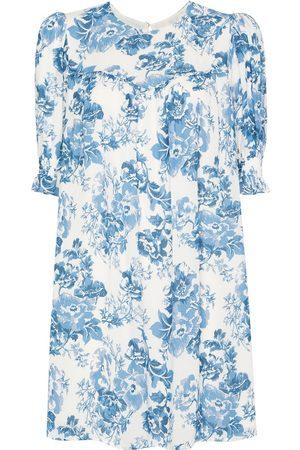 Reformation Conrad floral-print minidress