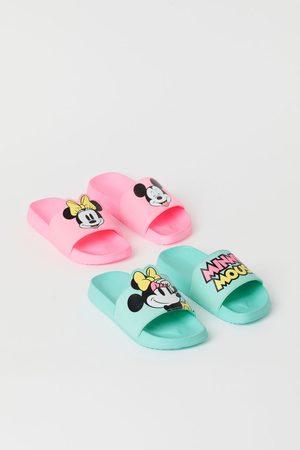 H & M Kids High Heels - 2-pack Printed Pool Shoes