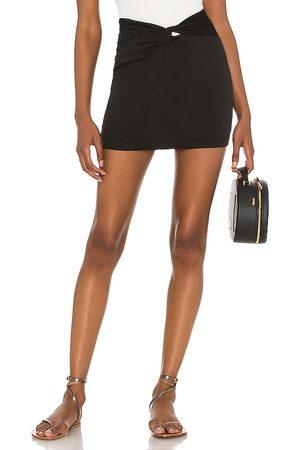 Free People Night Dreamer Twist Mini Skirt in .