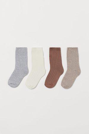 H & M Socks - 4-pack Socks