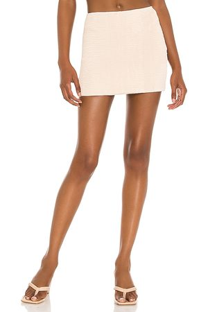 Lovers + Friends Women Mini Skirts - Devaney Mini Skirt in Nude.