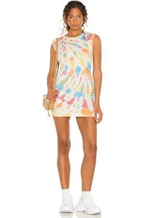 Young, Fabulous & Broke Colt Sleeveless Mini Dress in Lemon.