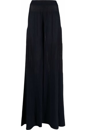 Malo High-waisted knitted maxi skirt