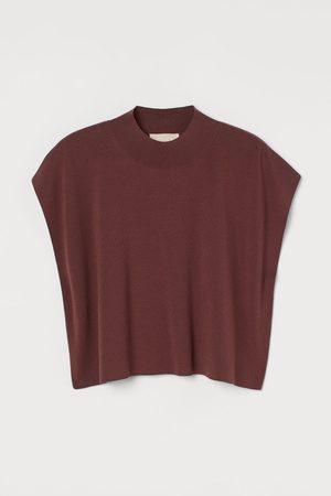 H&M Women Tank Tops - Lyocell-blend Sweater Vest