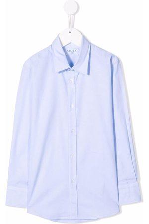 SIOLA Boys Shirts - Spread-collar cotton shirt
