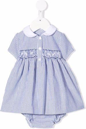 SIOLA Striped flared dress