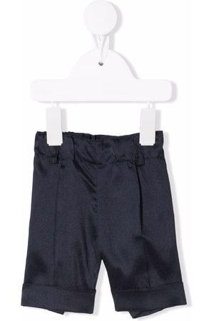 SIOLA Turn-up cuff detail shorts