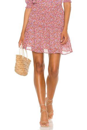Sanctuary Sweeter Mini Skirt in Rust,Pink.