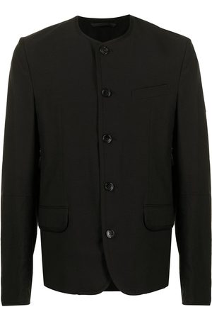 SONGZIO Blazers - Collarless blazer jacket