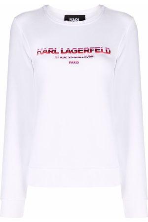 Karl Lagerfeld Address logo-print sweatshirt