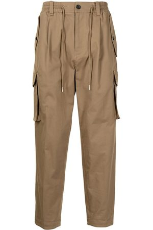 SONGZIO Carrot-fit cargo trousers