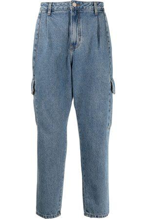 SONGZIO Denim cargo trousers