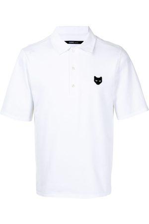ZZERO BY SONGZIO Logo-patch cotton polo shirt
