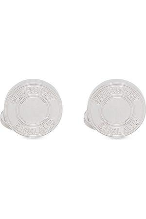 Burberry Logo-embossed cufflinks