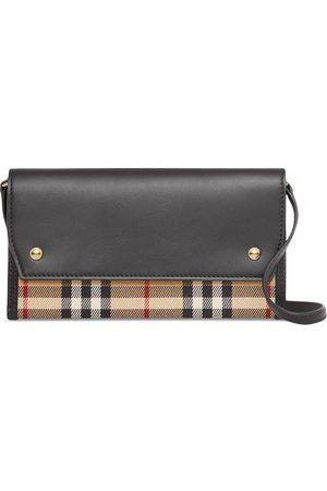 Burberry Women Wallets - Vintage check wallet case
