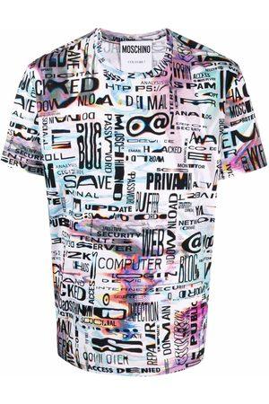 Moschino Graphic-print short-sleeve T-shirt