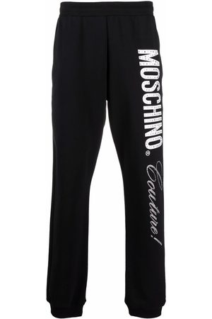 Moschino Men Sweatpants - Couture logo-print track pants