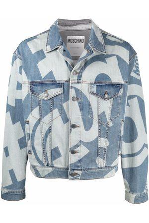 Moschino Graphic-print denim jacket