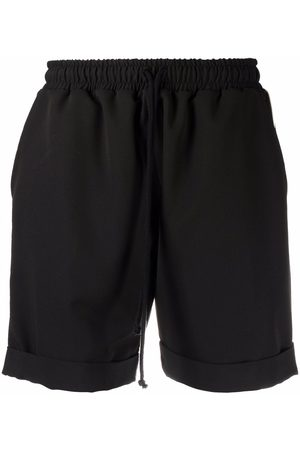 Alchemy Sports Shorts - Piped trim running shorts