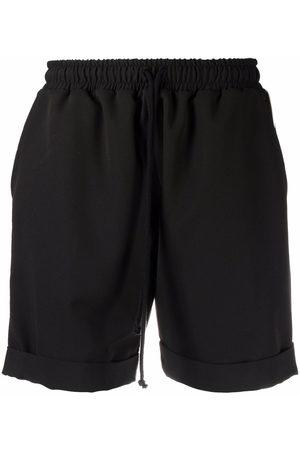 Alchemy Sports Shorts - Piped trim running shorts