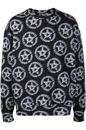 Moschino Logo-print drop-shoulder sweatshirt