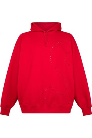 Supreme Laser cut 'S' logo hoodie
