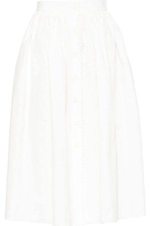 Miu Miu Piqué A-line skirt