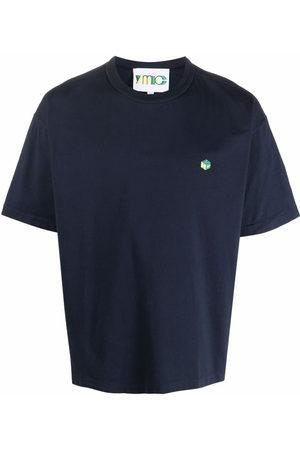 YMC Men T-shirts - Logo-print cotton T-shirt