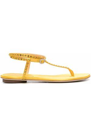 GIANNICO Studded open-toe sandals