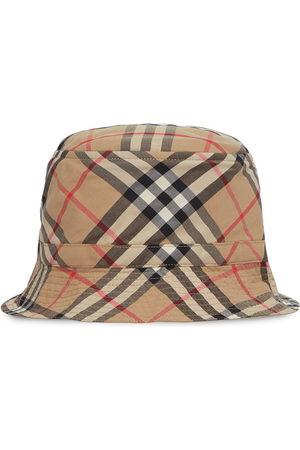 Burberry Kids Vintage Check print bucket hat