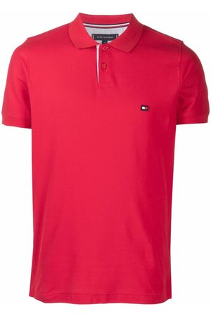 Tommy Hilfiger Men Polo Shirts - Embroidered-logo cotton polo shirt