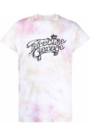 Honey Fucking Dijon Paradise Garage tie-dye print T-shirt