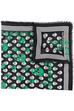 Alexander McQueen Heart-intarsia scarf
